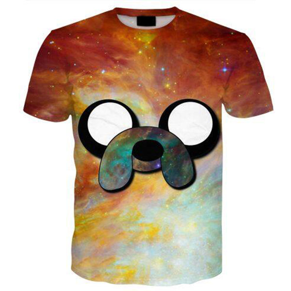 Jake Adventure Time Cosmic T-Shirt