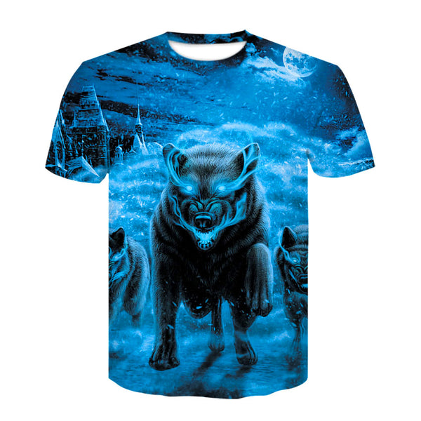 Ice Wolf Pack T-Shirt