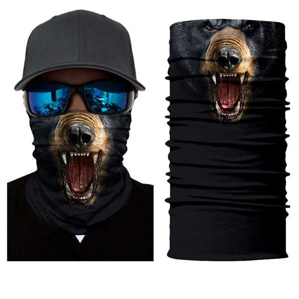Black Bear Neck Gaiter / Bandana