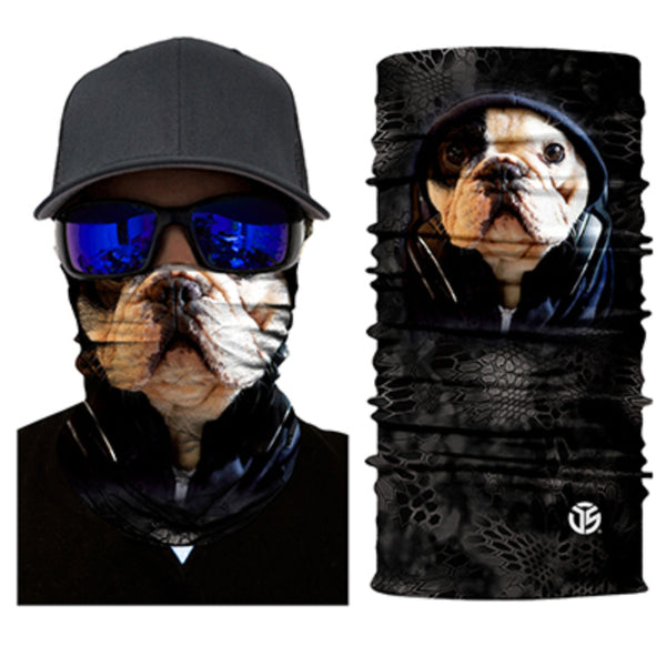Bulldog Face Neck Gaiter / Bandana