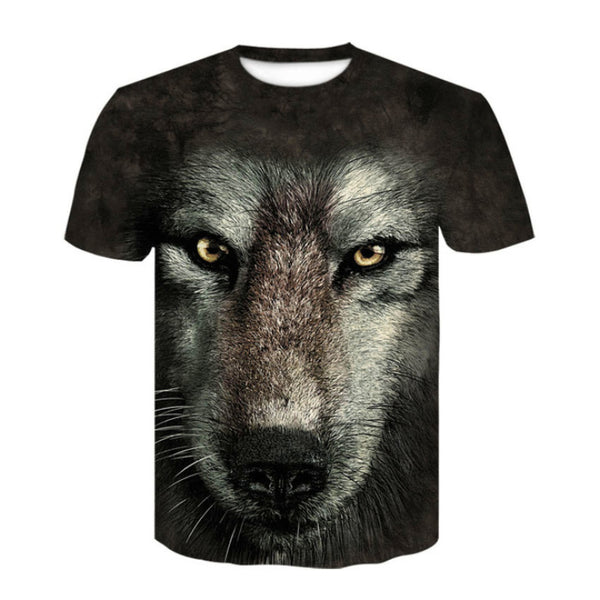 Big Face Wolf T-Shirt