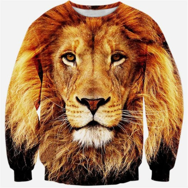 Lion Face Sweatshirt