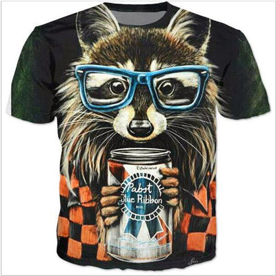 Cosmos  Raccoon T-Shirt