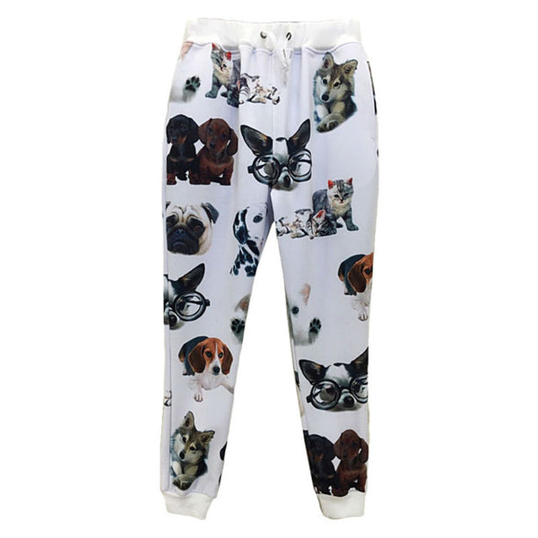 Dog Faces Sweatpants