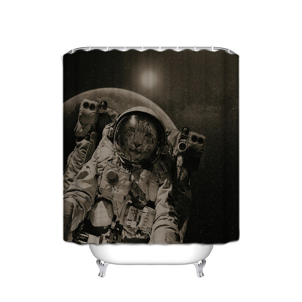 Big Castronaut Shower Curtain