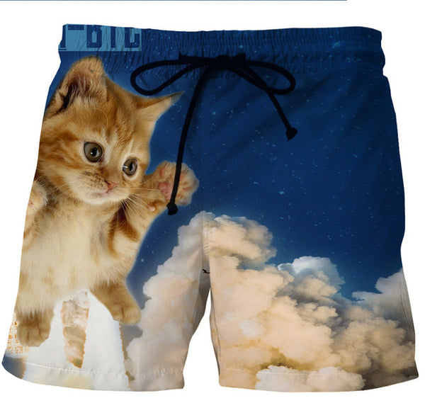 Kitten in the Clouds Shorts