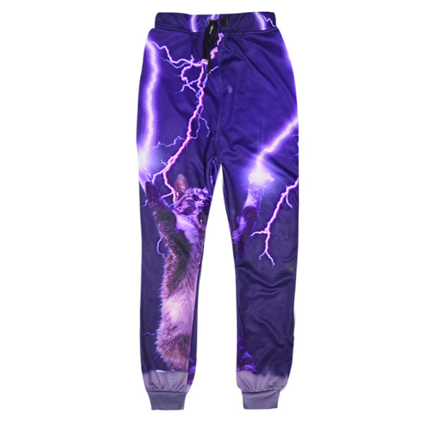 Lightning Cat Sweatpants
