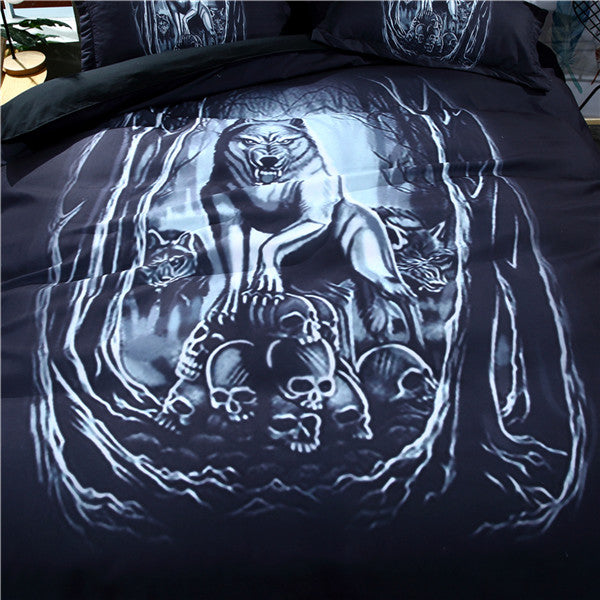Wicked Wolf Bedding Set