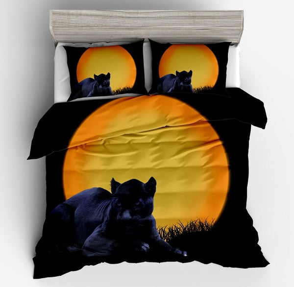Black Panther Bedding Set