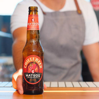 The legend is back – Matso's Chilli Beer returns this International Chilli Day!