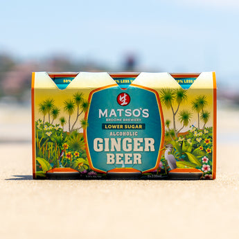 HAVE IT ALL WITH MATSO'S NEW LOWER SUGAR GINGER BEER – SAME EXTRAORINDARY TASTE WITH JUST HALF THE SUGAR!