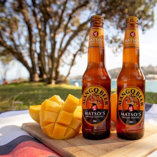 Matso's Mango: Refreshed, unfiltered & with local Australian mangoes