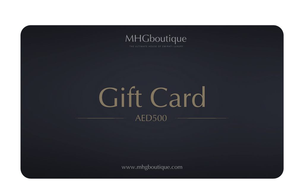 MHGboutique Gift Card Dhs. 500.00 AED MHGboutique Gift Card