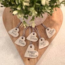 Large heart tag - Fabaclay