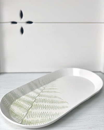 Pressed Fern Tray