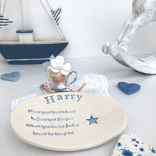 Personalised Tooth Fairy Dish - Fabaclay