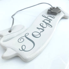 Personalised Ceramic Scroll - Fabaclay