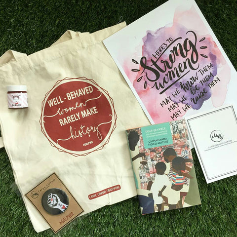 singapore online book subscription box for women adults teens