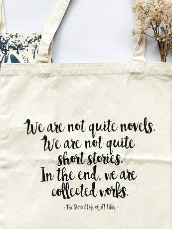 literary novel tote shoulder bag book subscription box singapore