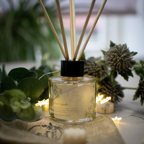 French Lavender Reed Diffuser from Cosy and Country and Available from F&B