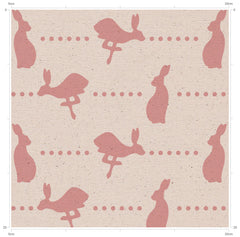 Hare & Dots Print Fabric - Country Inspired Fabric from F&B