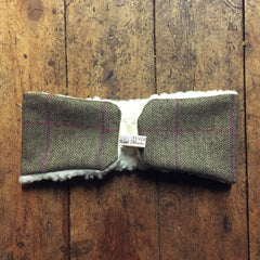 Feversham Tweed Headwarmer - Keep warm on winter days out