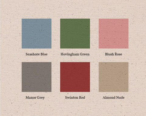 F&B period home colours blue, green, pink, grey, red and nude