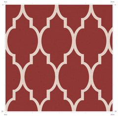 Vintage Trellis Inspired Fabric by F&B
