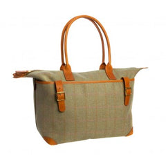 Tweed Weekend Bag - Bigger than the Fairfax and Favour Windsor Handbag