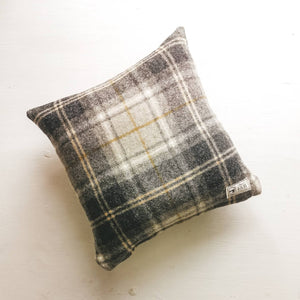 Tartan Wool Broadway Cushion - Abraham Moon