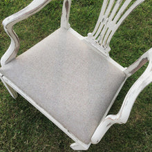 Taupe Tweed Herringbone Seat - Furniture Made in Yorkshire