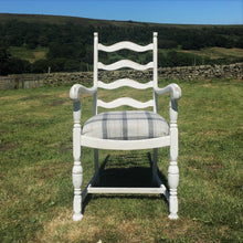 Upcycled furniture available in Yorkshire - Tartan Chair