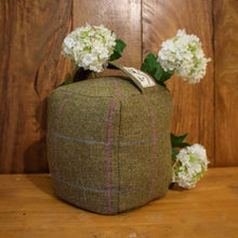 Very Heavy Tweed Doorstops - Country Living - Country Home Decor - Handmade in Yorkshire - Cottage Decor - Tweed Home Decor