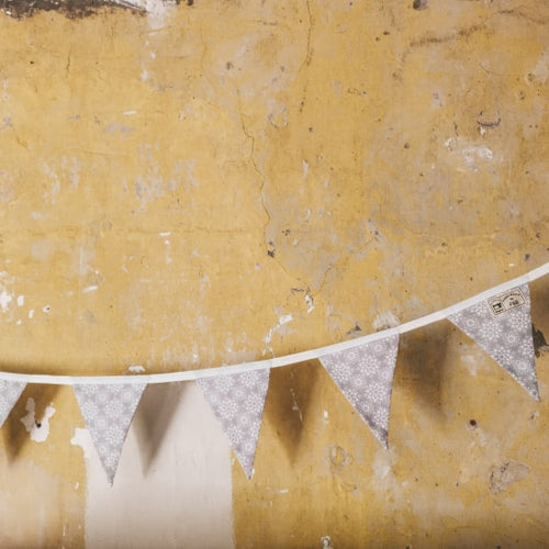 Grey Scandi Style Bunting - Bunting for home decor, country home decor and tarditional home decor