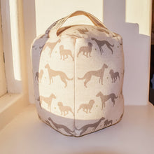 Country Print Home Decor Doorstop in Period Colours - Made in Yorkshire