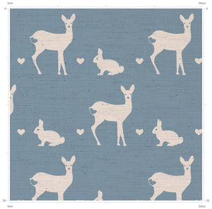 F&B Deer & Rabbit Print Doorstops