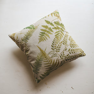 Leaf Print Cushion