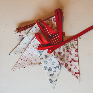 Handmade Scandi Style Bunting - Made by F&B in Yorkshire - A handmade Christmas