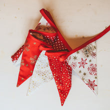 Red and Gold Christmas Bunting (3m)