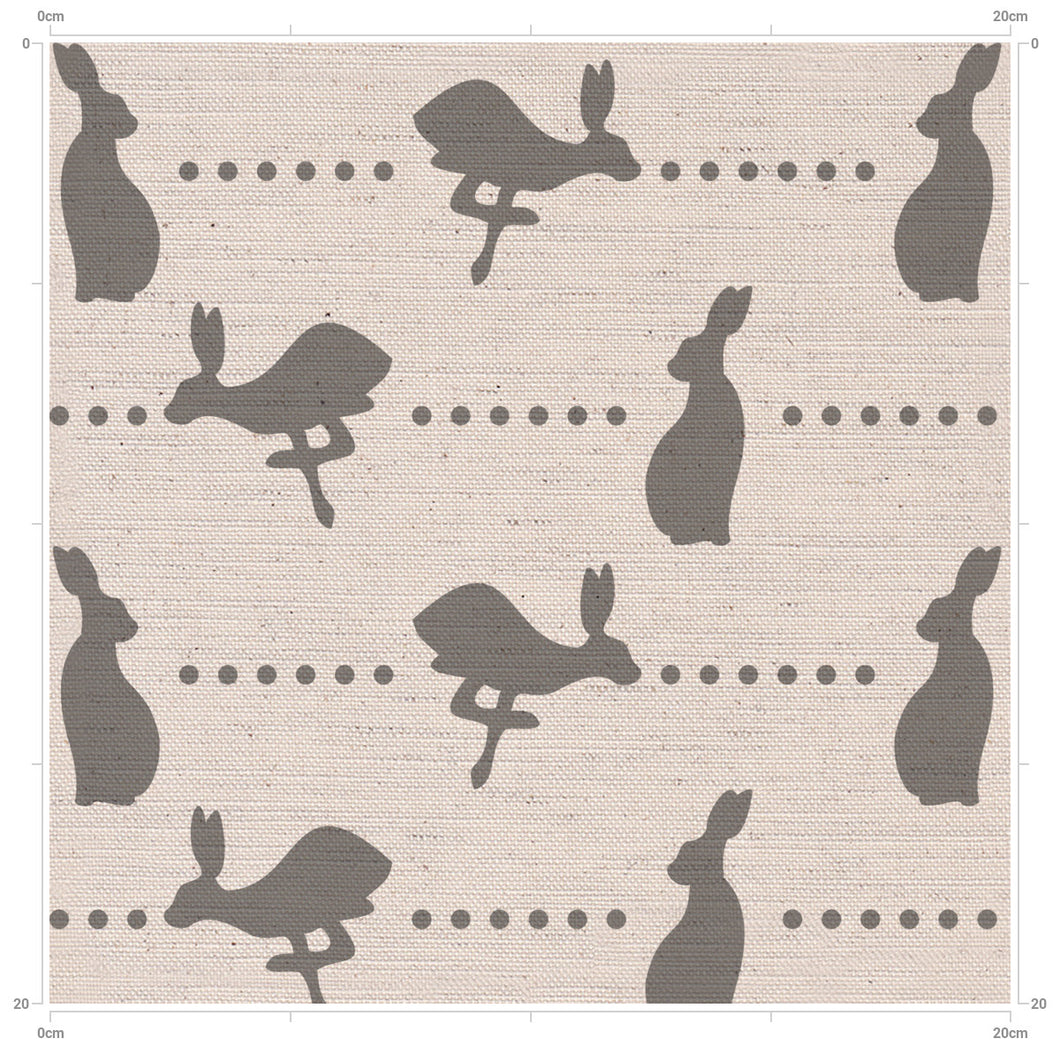 Country Home Country Living - Slate Grey Nursery and Home Decor Linen Fabric designed by F&B