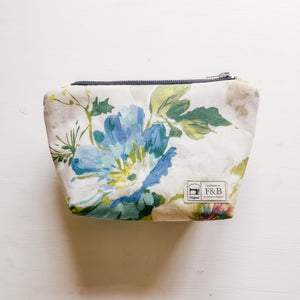 Handmade Floral Wash Bag or Make Up Bag from F&B