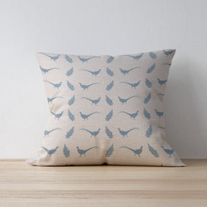 Seashore Blue - Vintage Style Linen Cushions for the Perfect Home Decor