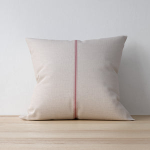 F&B Vertical Centre Pink Stripe with Small dots - Handmade in Yorkshire by F&B