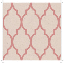 Light Pink Vintage Trellis Pattern by F&B