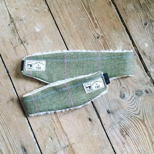Baby and Childrens Tweed Headwarmer - Handmade by F&B - Country Children