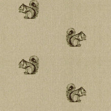 Squirrel Print Hob Covers Handmade  in Yorkshire by F&B