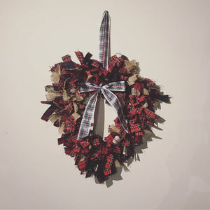 Autumn and Winter Fabric Wreaths