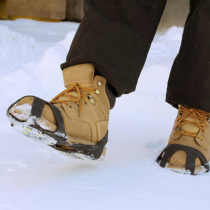 2-Pack Attachable Anti-Skid Ice-Traction Cleats