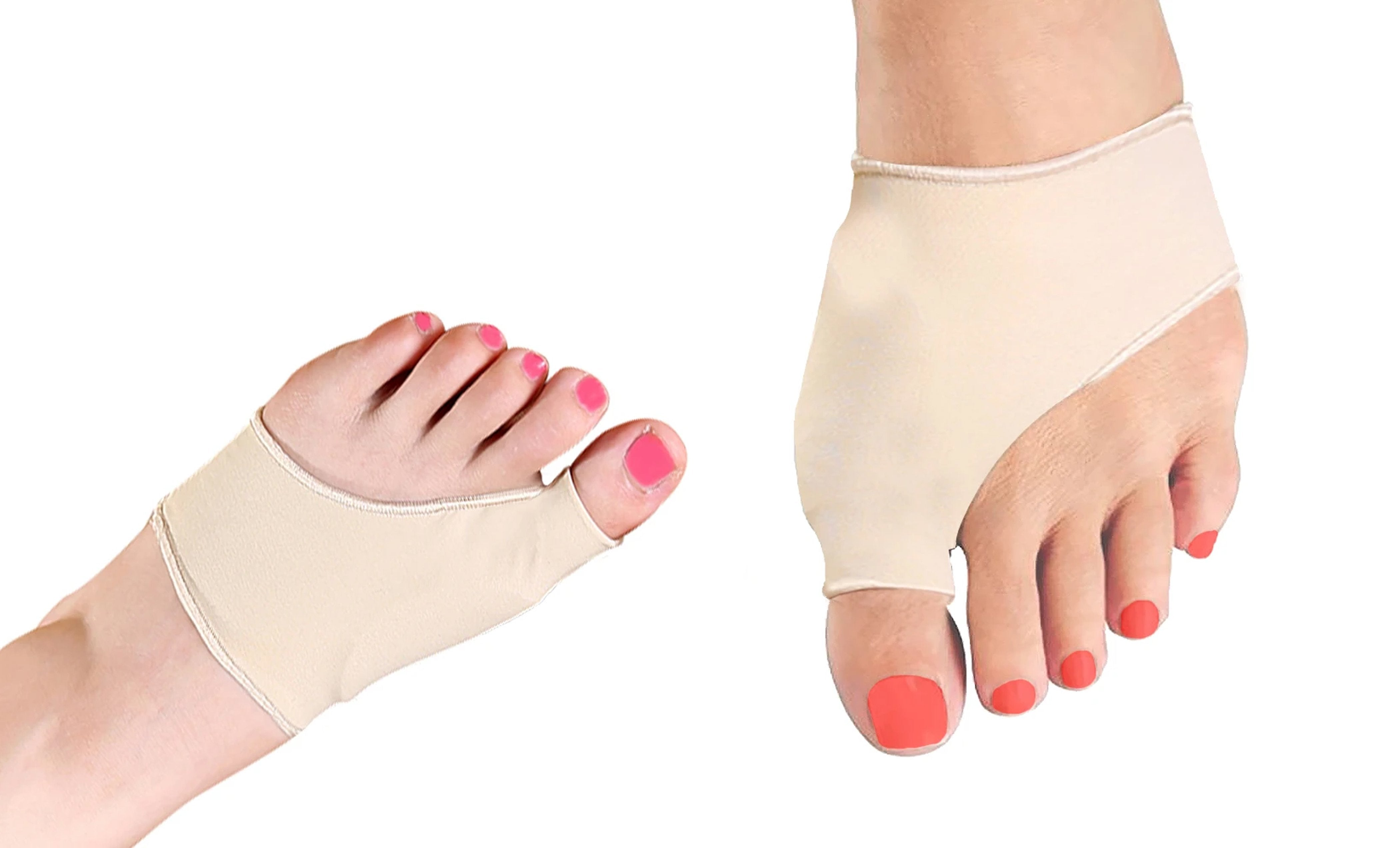 Bunion Protector and Detox Sleeve with Natural Gel (1-Pair)