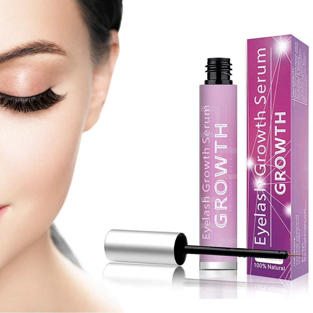 Premium Eyelash Growth Serum and Eyebrow Enhancer
